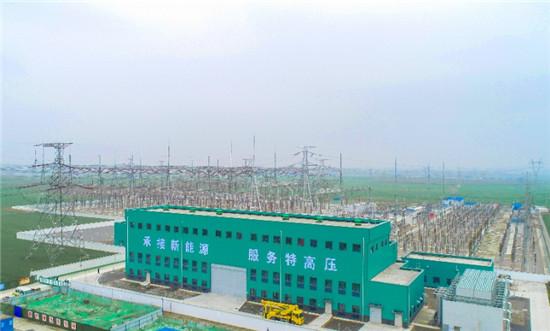 河南首套、国内容量最大调相机工程并网成功
