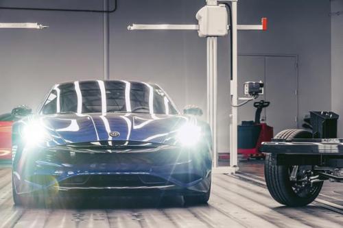 Karma汽车纯电动版Revero跑车于明年春上市