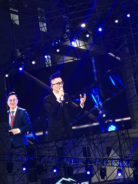 《下一个奇迹》上海万人峰会落幕 梁凯恩传递信念力量